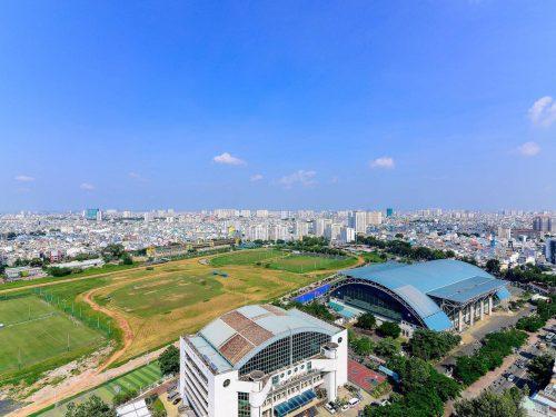 Bán căn 105m2 Xi Grand Court, 3 phòng ngủ, có nội thất, tầng cao, giá 6.350 tỷ. LH 0944445587
