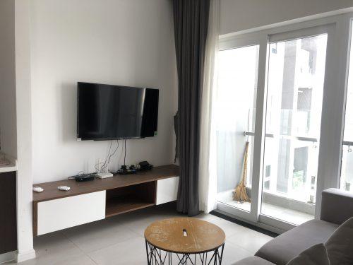 Cho thuê căn hộ Xi Grand Court 80m2, 2 phòng ngủ, full nội thất, giá 18 triệu/tháng